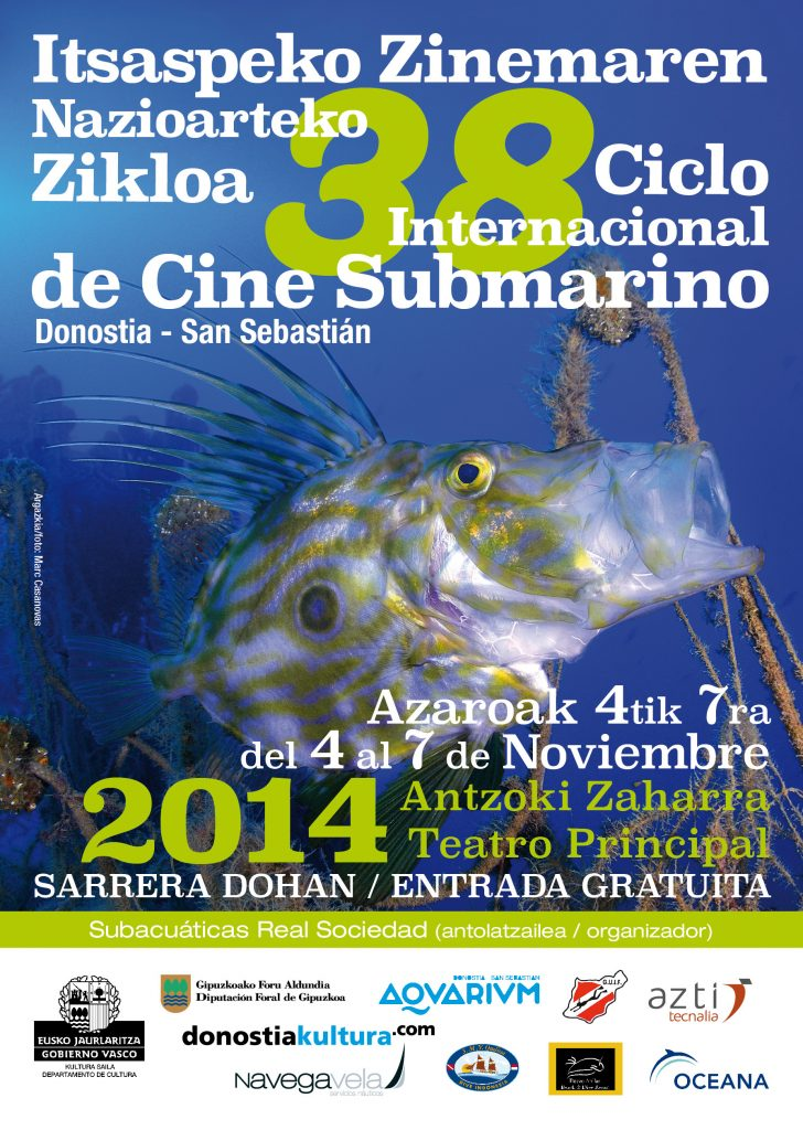 38 Ciclo Internacional de Cine Submarino