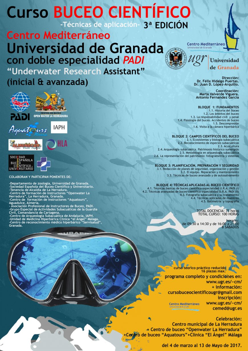 poster curso cemed_buceo 3 ed_publi