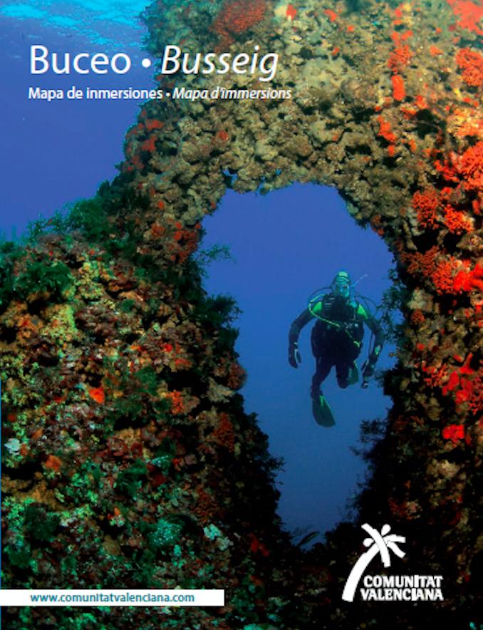 Click para descargar el mapa de inmersiones en la Comunidad Valenciana