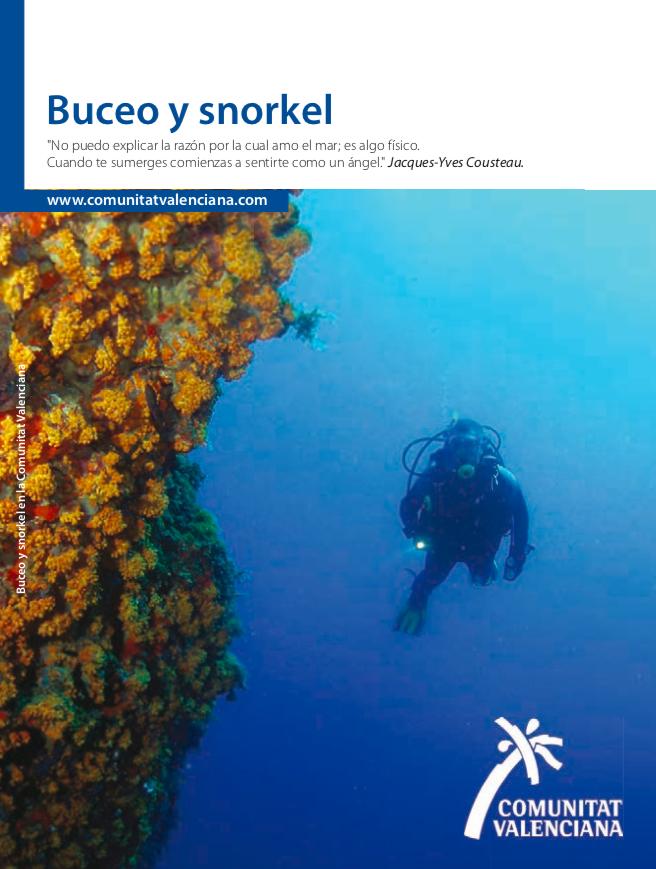 Click para descargar la guía de buceo y snorkel en la Comunidad Valenciana.