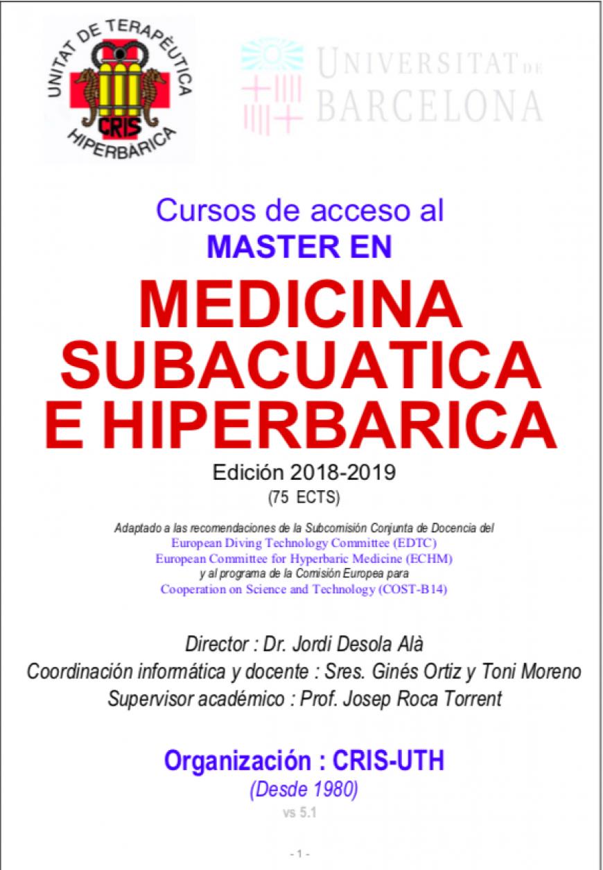 aQua master medicina subacuatica