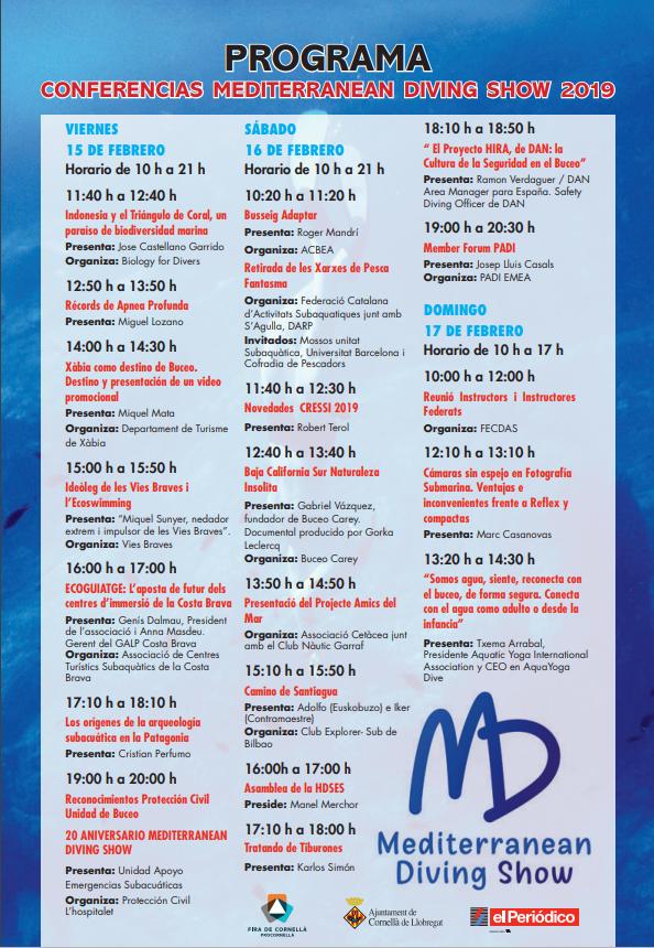 mediterranean dive show -revista aqua